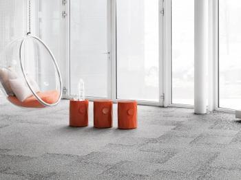 Presentationsbild för referensen Textila golv